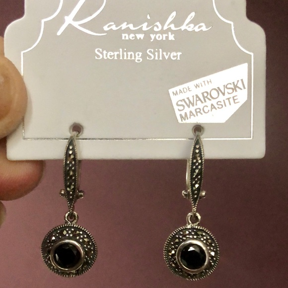 5b574b7ea120e Kanishka Sterling Silver Earrings NWT NWT